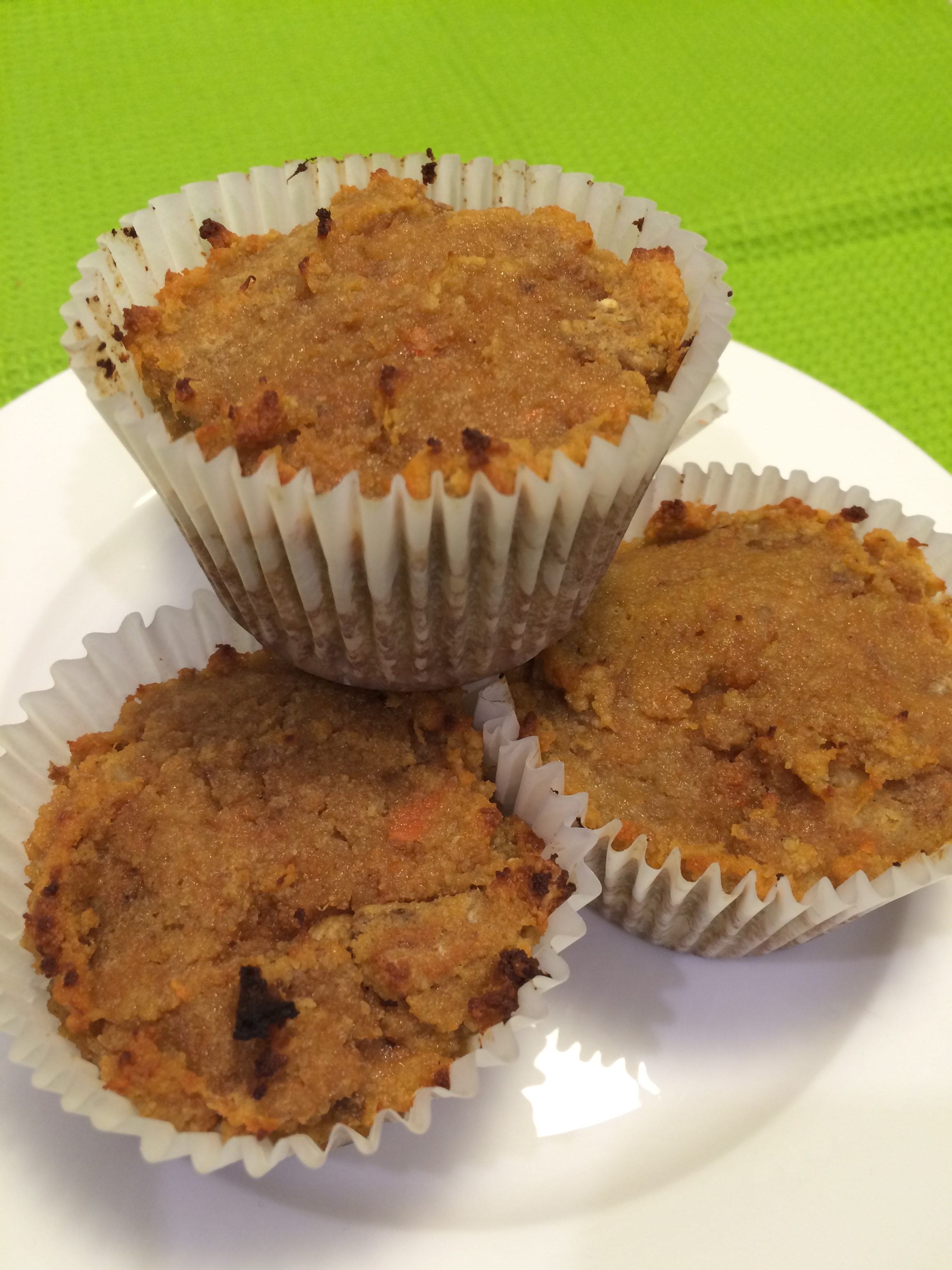 healthy carrot muffins recipe