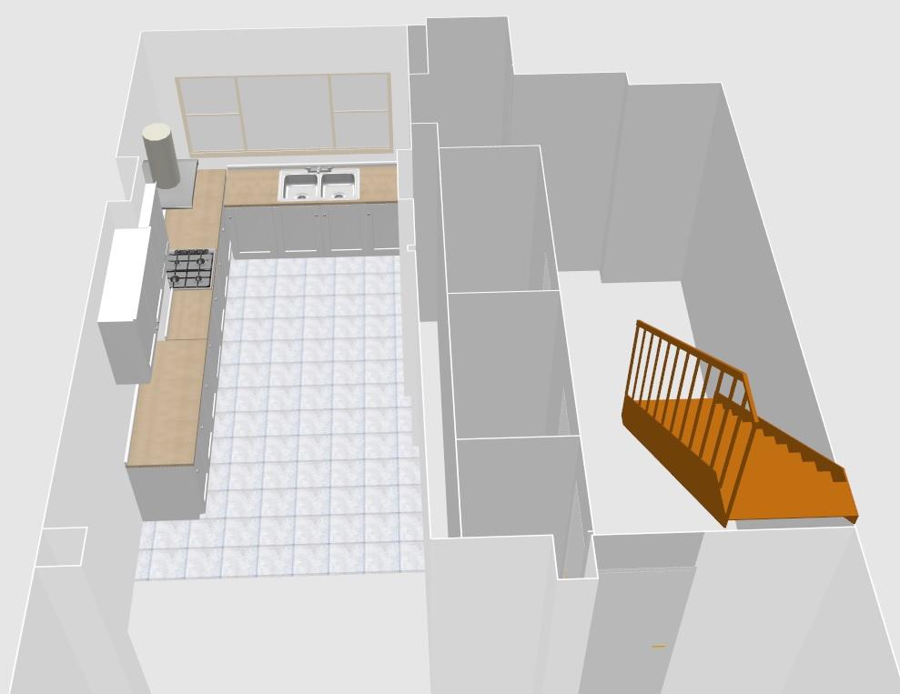 Planning a kitchen renovation - 3D Kitchen design