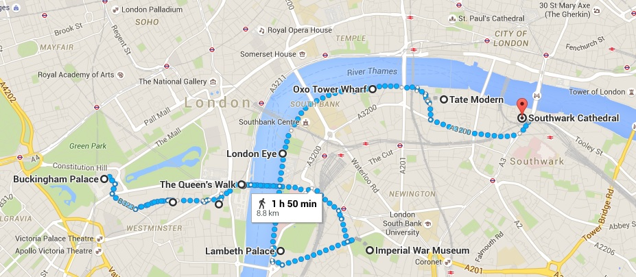 Day 1 London itinerary
