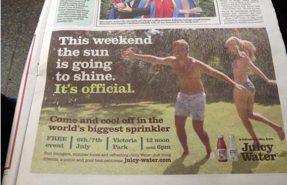 Hot weather is big news