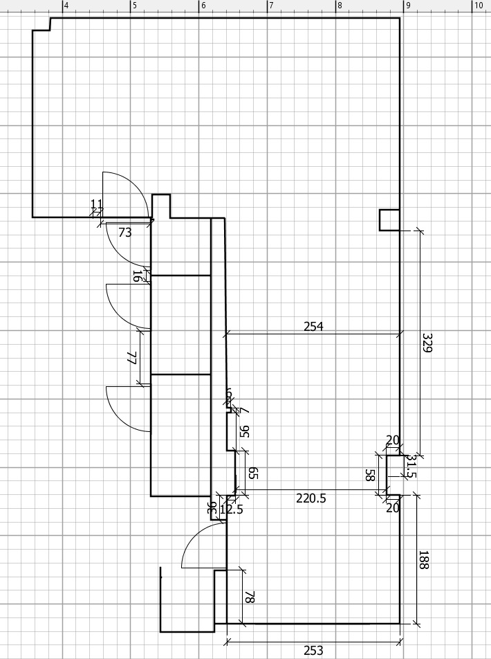 Planning a kitchen renovation - Initial Plan