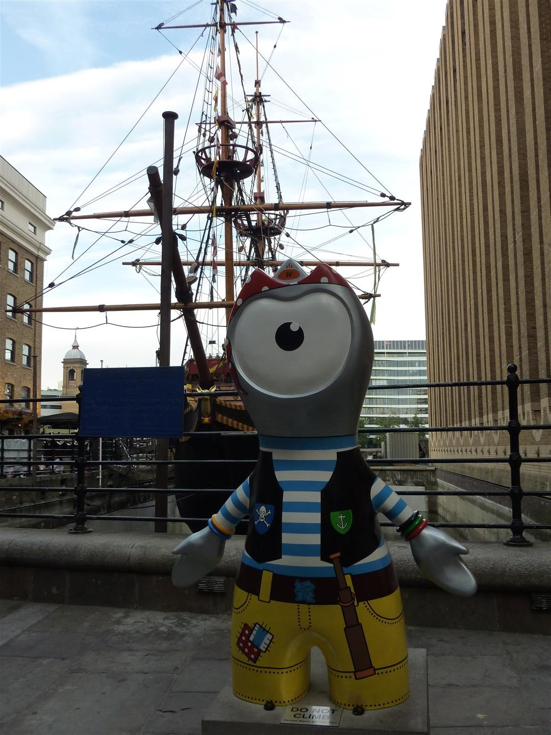 London itinerary - Golden Hinde