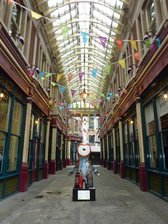 London itinerary - Leadenhall Market