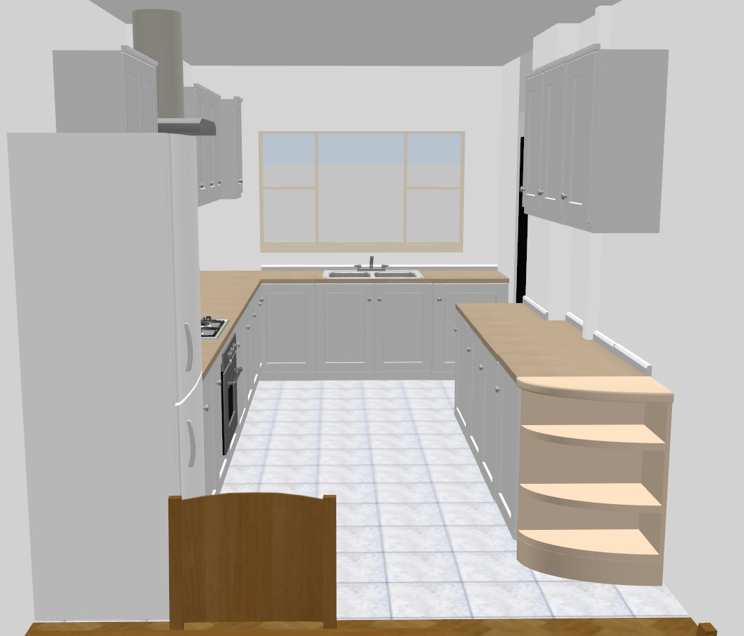 Planning a kitchen renovation - virtual visit