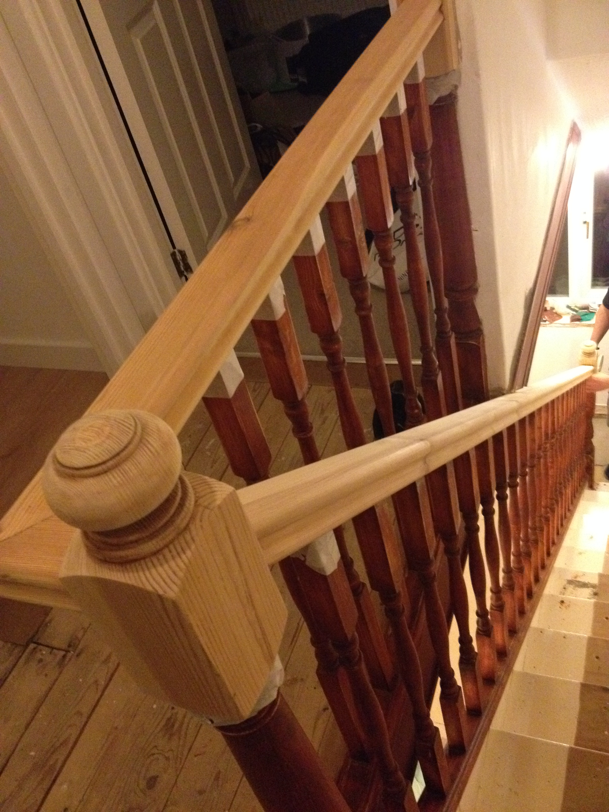 Staircase renovation – Part 2