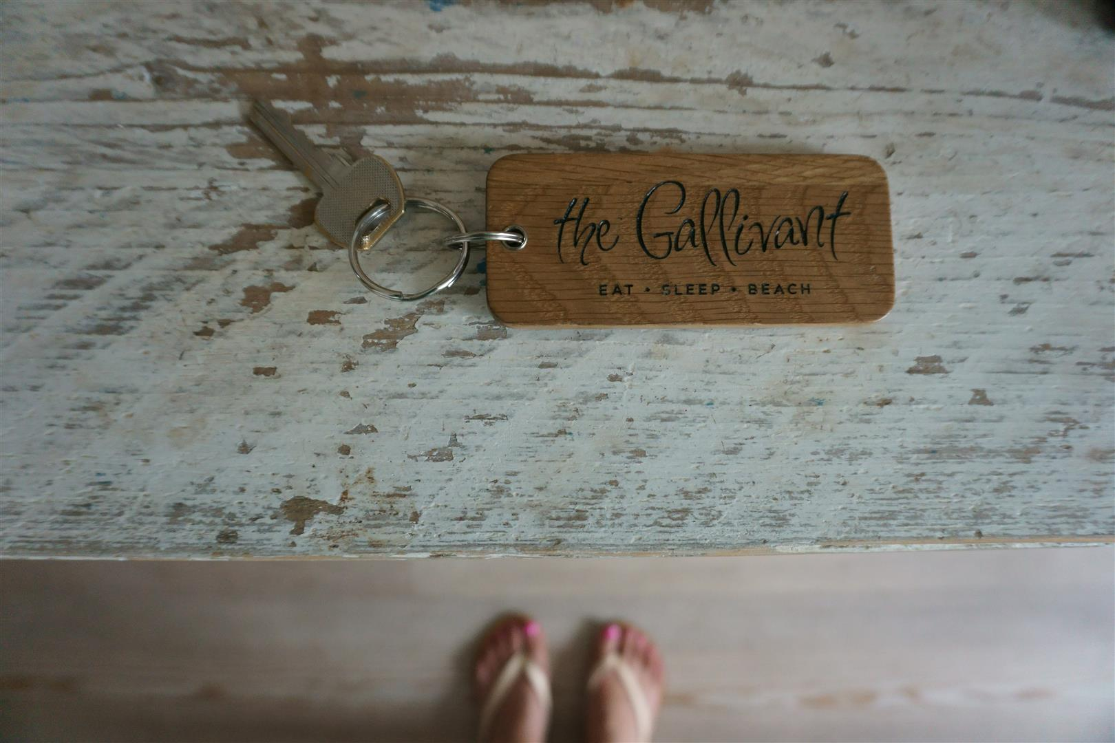 The Gallivant - hotel key